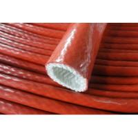 China Silicone coated Fiberglass Sleeving Fiberglass pipe silicone sleeve, Competitive price, Heat insulation on sale