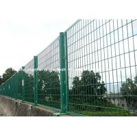 Wholesale Europe Style Wire Security Metal Fencing Panels For Agriculture / Construction from china suppliers