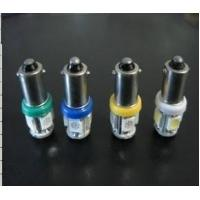 Wholesale Bright LED Xenon white bulbs which have 5 LED's in each and T10 sockets from china suppliers
