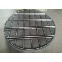 China Stainless Steel Mesh Sheet / Mist Eliminators Mesh Pads Alloy Material on sale