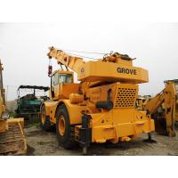 Quality USED GROVE RT750 50t ROUGH TERRAIN CRANE FOR SALE for sale