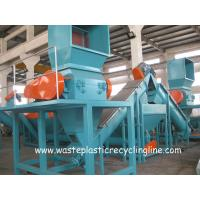Plastic Washing Line For Waste plastic films bags , Plastic Recycling Equipment for sale