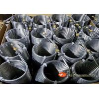 Buy cheap High Efficiency Refrigerator Evaporator Titanium Tubes In Coils,Cooling Coil from wholesalers