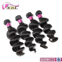Wholesale 2015 XBL One Donor Full Cuticle Virgin Human Hair Natural Color Loose Wave from china suppliers