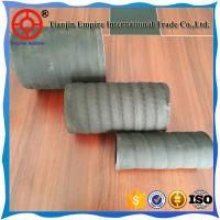 Wholesale Water/air suction and discharge hose 4'' inch fiber reinforced rubber pump  hose from china suppliers