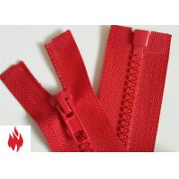 Wholesale Fire Retardant Vislon Zipper, one way / open end / vislon FR tooth / aramid tape from china suppliers