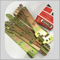China Heavy Duty Galvanized Strap Hinges , Ornamental Strap Hinge Long Durability for sale