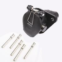 Wholesale 5 Pin Trailer Electrical Socket Crimp Type Trailer Power Plug Waterproof from china suppliers