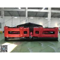 Wholesale Red Inflatable Sports Games For Advertising Obstacle Flame Retardant from china suppliers