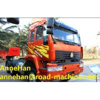Wholesale 371Horsepower SINOTRUK SWZ 6X4TRACTOR TRUCK With Triangle tire from china suppliers