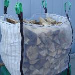 China Vented FIBC Bulk Bags / Fibc Big Bag Closed Bottom 4 Side Seam Loops for sale