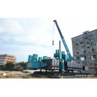 Wholesale ZYC360 Hydraulic Static Pile Driver , Pile Driving Equipment In Blue Color from china suppliers
