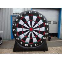 China Air Blower Inflatable Sports Games Outdoor Inflatable Foot Dart Board Stands on sale