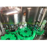 Wholesale Flavor Water Liquid Bottle Filling Machine , 3 In 1 Juice Production Machine / Line from china suppliers
