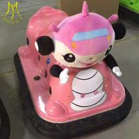 Wholesale Hansel hot selling electronic plastic battery toy bumper car for sale from china suppliers