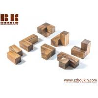 Wholesale Soma Cube - wooden brain teaser puzzle wood puzzle gift for architect office desk toy from china suppliers
