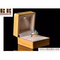 Quality Japan Feature Cheap Wooden Necklace and Hand Jewelry Box with Led light for sale