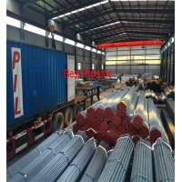 China ASTM A53 API 5L  UOE Steel Pipe , Black ERW Carbon Steel Pipe on sale