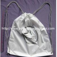 Wholesale Durable Colorful Plastic Drawstring Travel Bags For Underwear from china suppliers