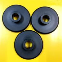 Wholesale Black Nylon 66 Plastic Machined Parts CNC Turning Simple Design Lightweight from china suppliers