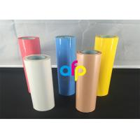 China Custom Colors Hot Stamping Foil For Blocking Machine PET Film Base on sale