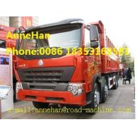 Wholesale 50T Heavy Duty Dump Truck SINOTRUK HOWO A7 DUMP TRUCK 8x4 With Front Lifting from china suppliers