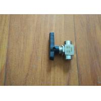 Polyurethane Sprayer Replacement Parts 2 Way Ball Valve Ce Certificated for sale