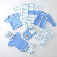 Wholesale 19 - 24 Months Baby Boy Clothing Sets Knitted Interlock Fabric Type 8pcs from china suppliers