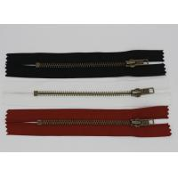 Wholesale H65 Metal Brass Nomex Aramid Fire Retardant Zippers Heat Resistance For Uniforms from china suppliers