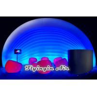 Buy cheap Hot White Tent Inflatable Pod with Lights for Exhibition and Conference Communications from Wholesalers
