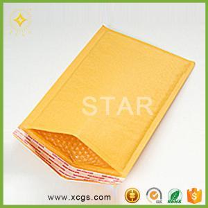 China Custom printing high quality kraft paper mailing air bubble padded envelope jiffy bag on sale