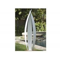 Wholesale Garden Art Decoration Modern Stainless Steel Sculpture White Painted Finish from china suppliers