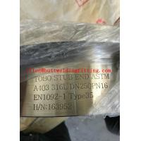China Welding Stainless Steel Stub End Pipe Fitting With ASTM A403 316L Standard on sale