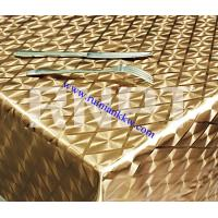 Wholesale Hot Sale Metallic Gilding Table Cloth from china suppliers