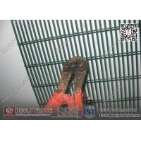 Wholesale 358 High Security Anti Cut Mesh Panel  Fening | RAL6005 Green Color | China Fence Factory from china suppliers