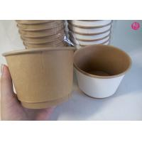 Wholesale 500pcs per Carton 20oz Double Wall Paper Bowl Food Conatiner Takeaway in EU market from china suppliers
