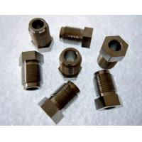 Wholesale Custom titanium alloy cnc turning lathe part TC4 GR5 ti parts from china suppliers