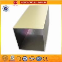 Environmental Powder Coated Aluminium Extrusions Acid and Alkali Resistance for sale