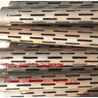 Wholesale carbon steel Slotted Pipes from china suppliers