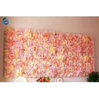 China Square Artificial Flower Wall Decor Synthetic Foam Material Easy Maintenance on sale