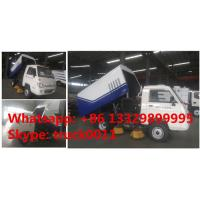 China cheapest price forland RHD mini road sweeper truck for sale, factory direcr sale best price forland sweeping vehicle for sale