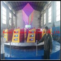Buy cheap Popular Colorful  Kids Amusement Park Games Equipment Ballerina Rides  Fiberglass 24seats Kiddie Hully Gully from wholesalers