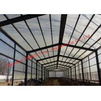 China Sandwich Panel Cladding Poultry Steel Framing Systems Structural Steel Construction Shed for sale