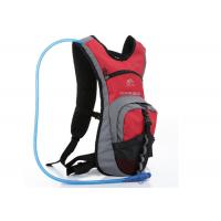 Quality Red Nylon & Dacron Cycling Water Pack , 2L Hydration Backpack For Hiking for sale