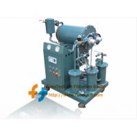 Wholesale Series ZY Small Portable Single-stage Vacuum Transformer Oil Purifier from china suppliers