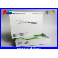 Wholesale Paper Medicine Packaging Box Silver Foil Metallic For Hgh Injections Growth Hormone from china suppliers