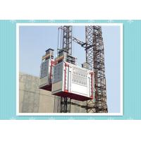 China 1 Cabin Construction Hoist Elevator SC200/200 For Personnel / Material Lifting for sale
