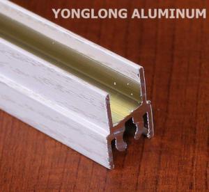 Wholesale White Wardrobe Aluminium Profile For Cabinets Rectangular Shape from china suppliers