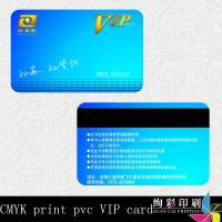 Wholesale Fashion Print Double Sided Business Cards / Elegant Printed Membership Card from china suppliers