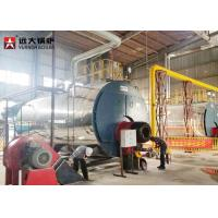 Energy - Saving 15 Ton Gas Steam Boiler Fire Tube Design Automatic Running for sale
